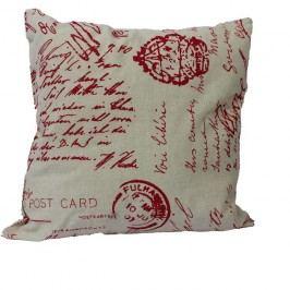 dekorační polštář červený, X0039