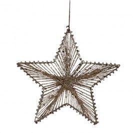 Hvězda z provázků 20 cm X0255