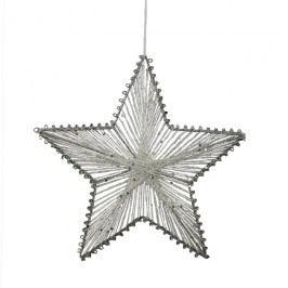 Hvězda z provázků 25 cm X0250