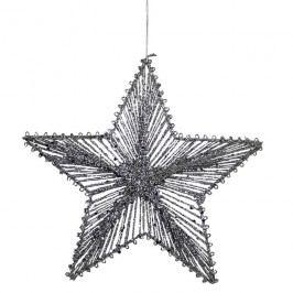 Hvězda z provázků 20 cm X0252