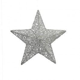 Hvězda z provázků 3D 25 cm X0245