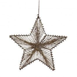 Hvězda z provázků 15 cm X0254