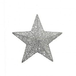Hvězda z provázků 3D 15 cm X0243