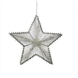 Hvězda z provázků 15 cm X0248