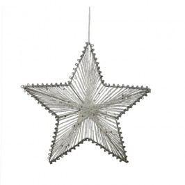 Hvězda z provázků 20 cm X0249