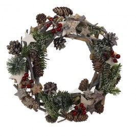Vánoční věnec pr. 30 cm P0302