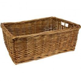 Proutěný košík box k ukládání 381612/S košík střední