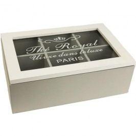 Krabička na čaj Paris D0261