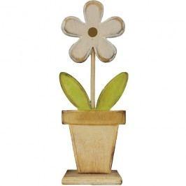 Dřevěná květina střední D0250/S