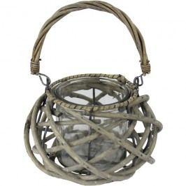Košík se sklem šedý P0404-21