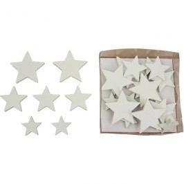 Dekorační hvězdičky, 24ks D0368