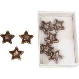 Dekorační hvězdičky, 8ks X0367