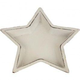 Dřevěný podnos hvězda malý D0506/2