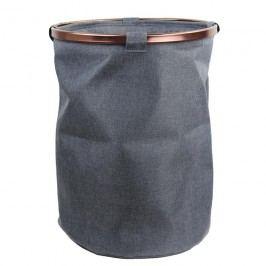 Koš textilní šedý
