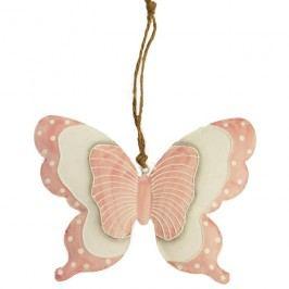Motýl kovový větší