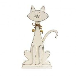 Dekorace kočka malá