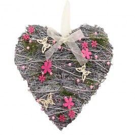 Srdce s dekoracemi P0580