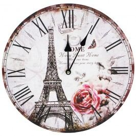 Nástěnné hodiny 34cm - EIFFELOVKA 355163