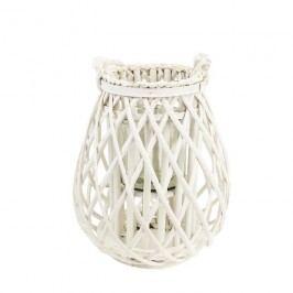 Dekorace na svíci bílá P0681