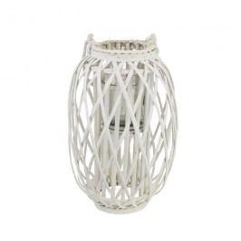 Dekorace na svíci bílá P0676