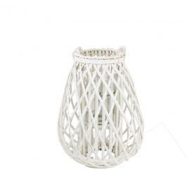 Dekorace na svíci bílá P0680