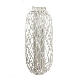 Dekorace na svíci bílá P0673