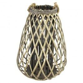 Dekorace na svíci šedá P0679-21