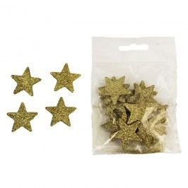 Dekorační hvězdičky, 24ks X1079