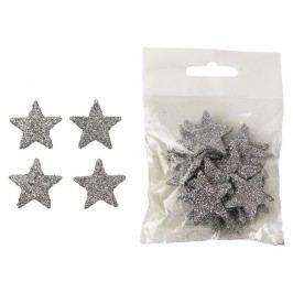 Dekorační hvězdičky, 24ks X1074