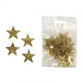 Dekorační hvězdičky, 18ks X1078