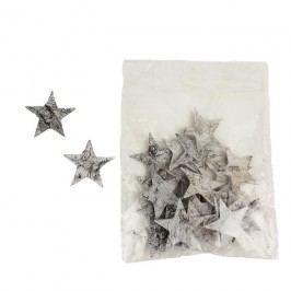 Dekorační hvězdičky, 24ks P0669