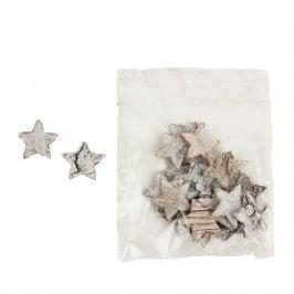 Dekorační hvězdičky, 24ks P0671