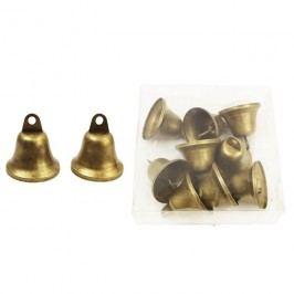 Zvonečky kovové, 9 ks