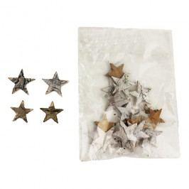 Dekorační hvězdičky, 24ks P0670
