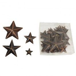 Hvězdy kovové, 22 ks
