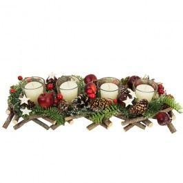 Adventní svícen na 4 svíčky P0603