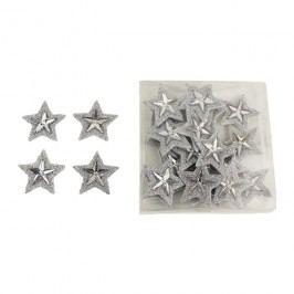 Dekorační hvězdičky, 24ks X0980