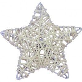 hvězda 3 D bělená