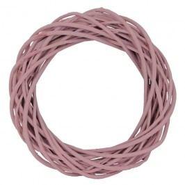 Věnec růžový 30 cm