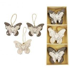 Motýlci v boxu, 6 ks