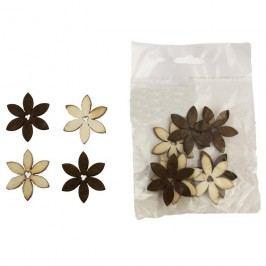 Dekorační kytky 4cm D0653, 12ks