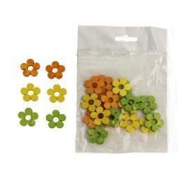 Dekorační kytky 2cm D0663, 24ks