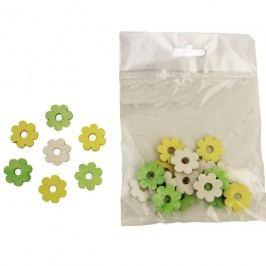 Dekorační kytky 2cm D0643, 24ks
