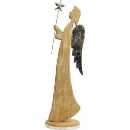 Dřevěný anděl D0782