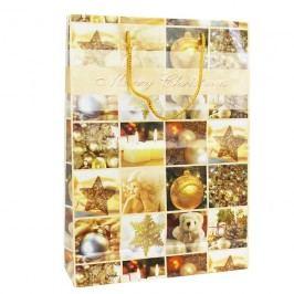 Papírová taška Merry Christmas