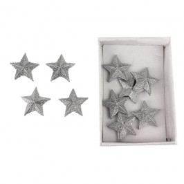 Dekorační hvězdičky, 10ks X0827/ST