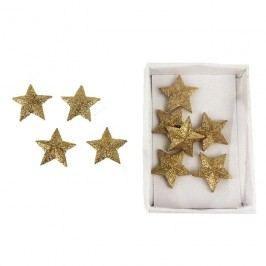 Dekorační hvězdičky, 10ks X0827/ZL