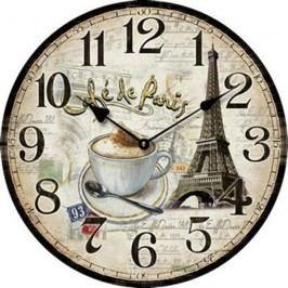 Hodiny pr.34 cm - CAFÉ