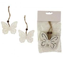 Motýl k zavěšení, 2ks D1022