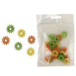 Dekorační květy 2cm, 24ks D1118